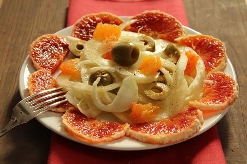 insalata di finocchi e aranc