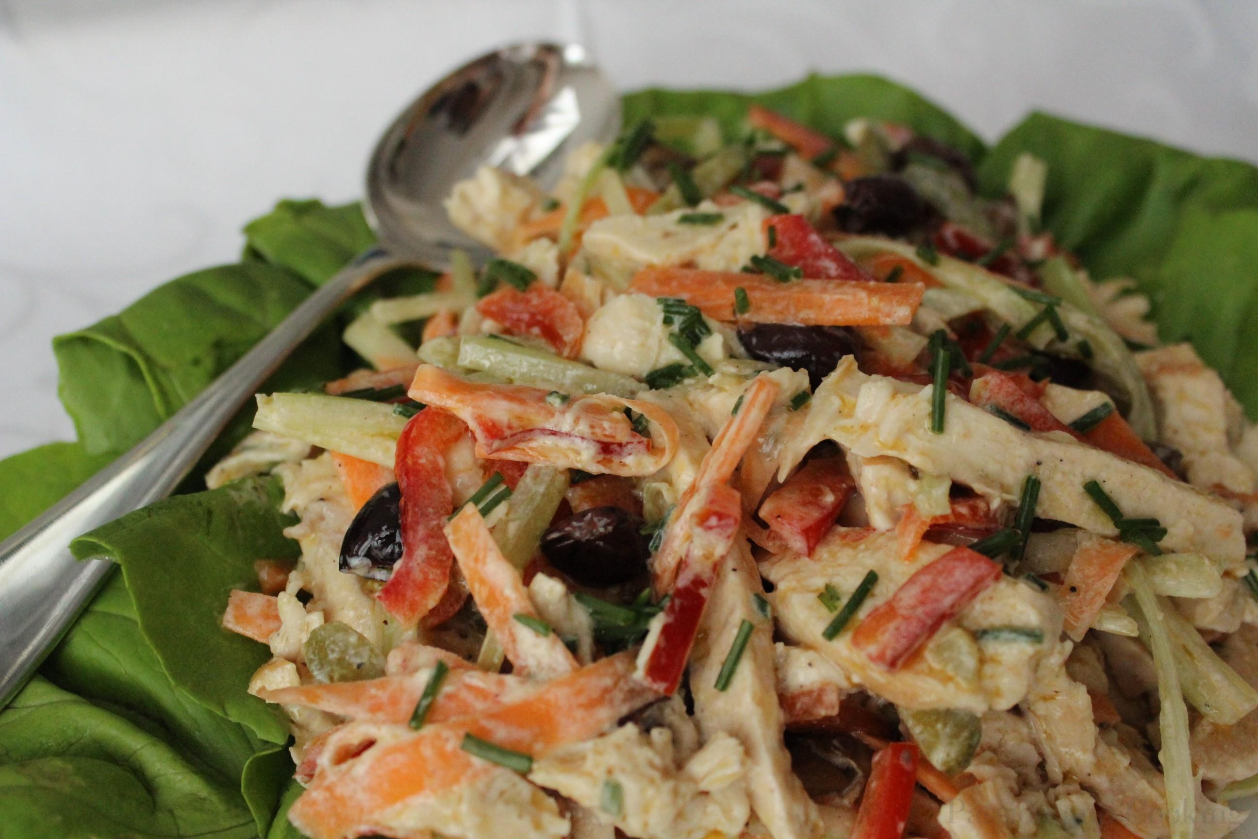 Insalata Di Pollo Chicken Salad Passion And Cooking