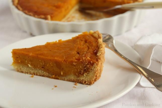Italian-style pumpkin pie