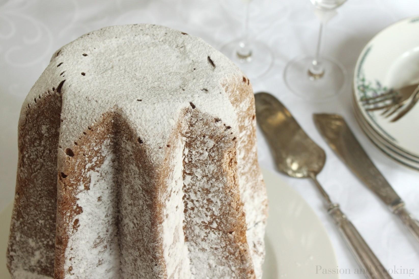 Pandoro con Crema di Limoncello (Pandoro with Limoncello Cream ...