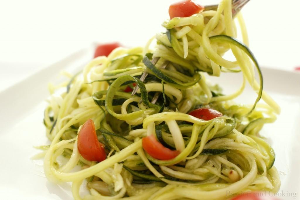 Spaghetti di zucchine 2