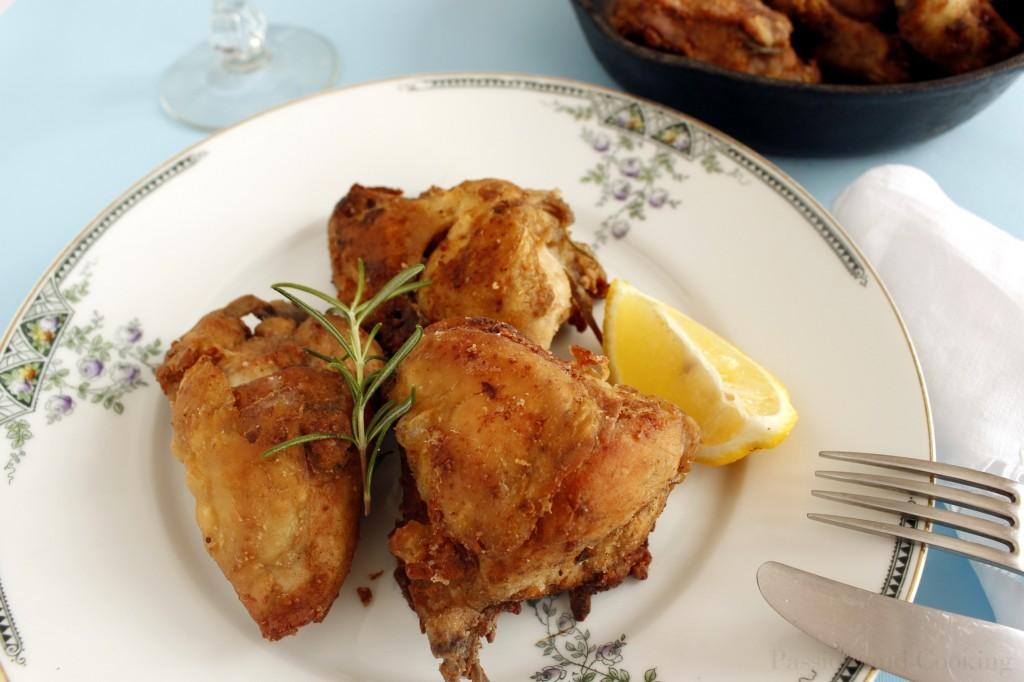 Pollo fritto piatto