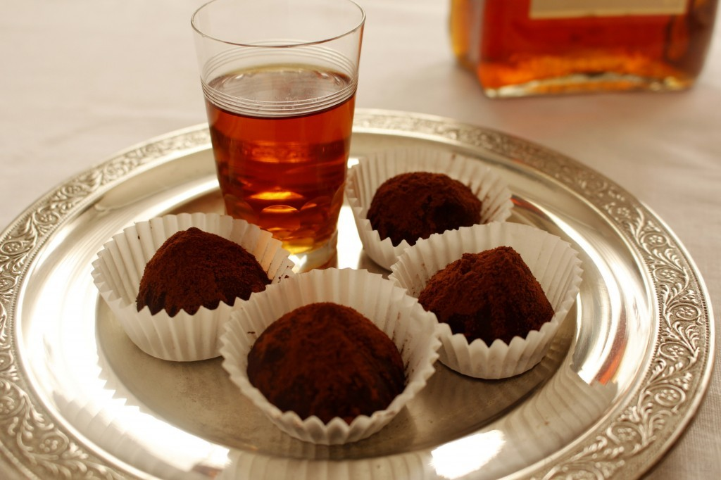Castagne truffles