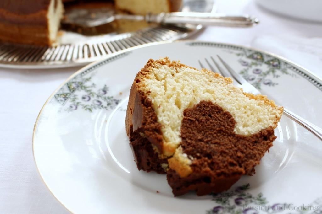 Ciambellone Marmorizzato Marble Ring Cake Passion And