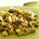 Asparagi con Mandorle e Capperi (Asparagus with Almonds and Capers)