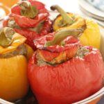 Peperoni ripieni al forno