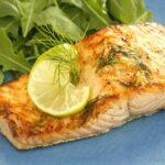 Salmone Marinato e Grigliato (Marinated Grilled Salmon)