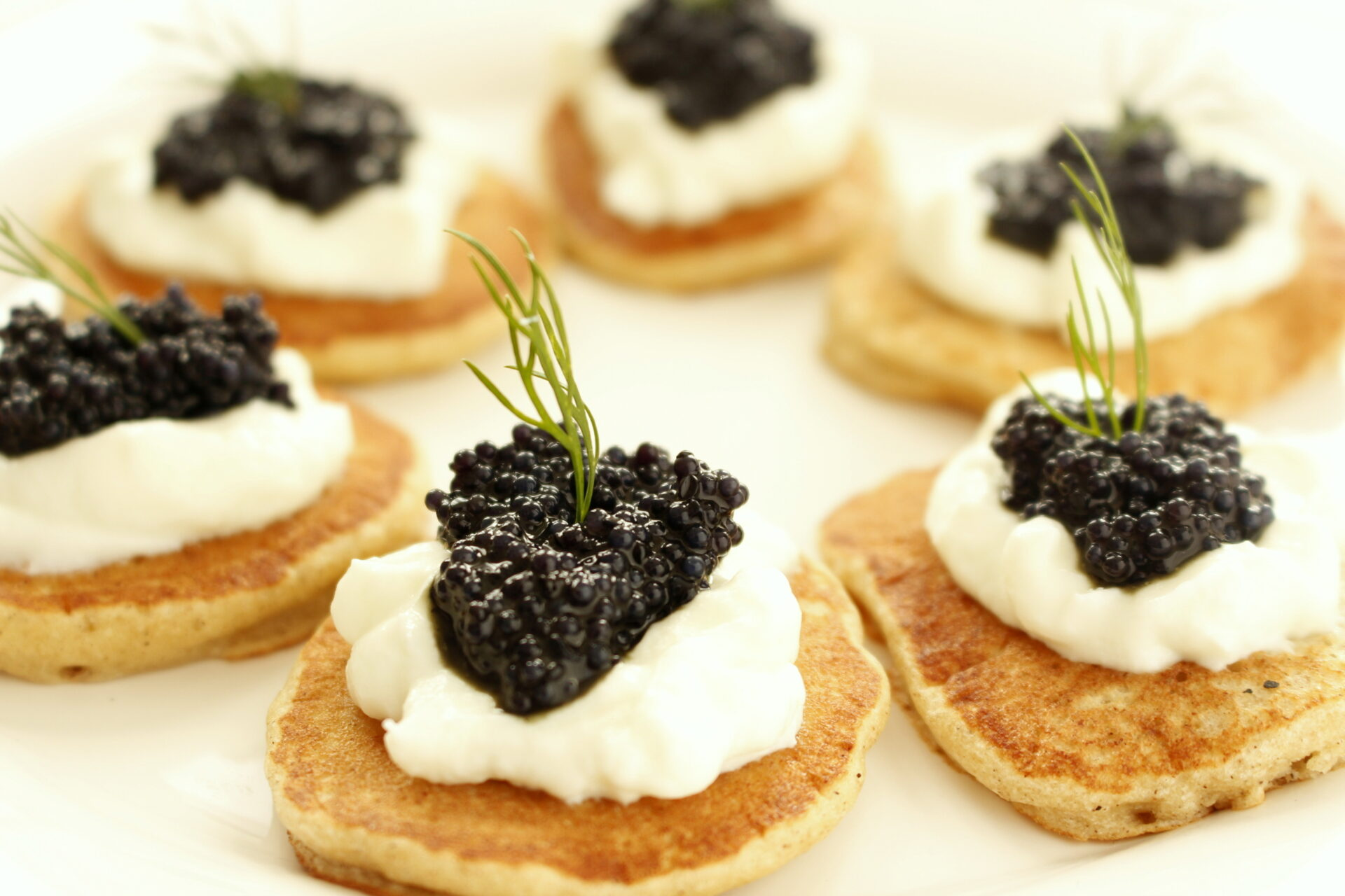 Blini con Caviale (Blini with Caviar) - Passion and cooking