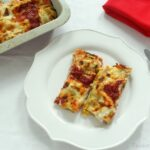 Cannelloni stuffed with meat