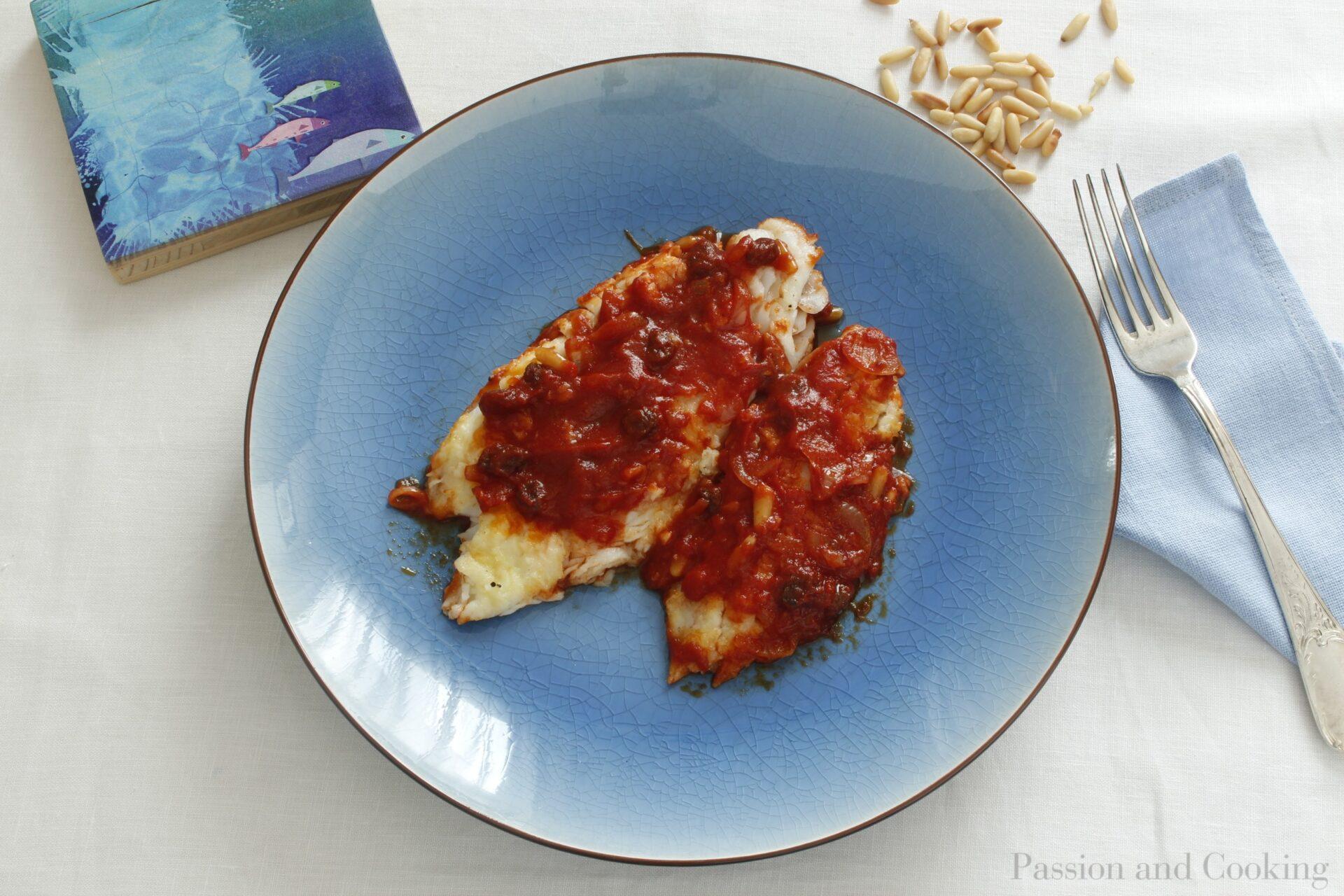 Roman style codfish