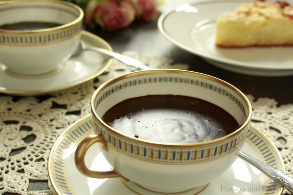 Hot Italian Chocolate