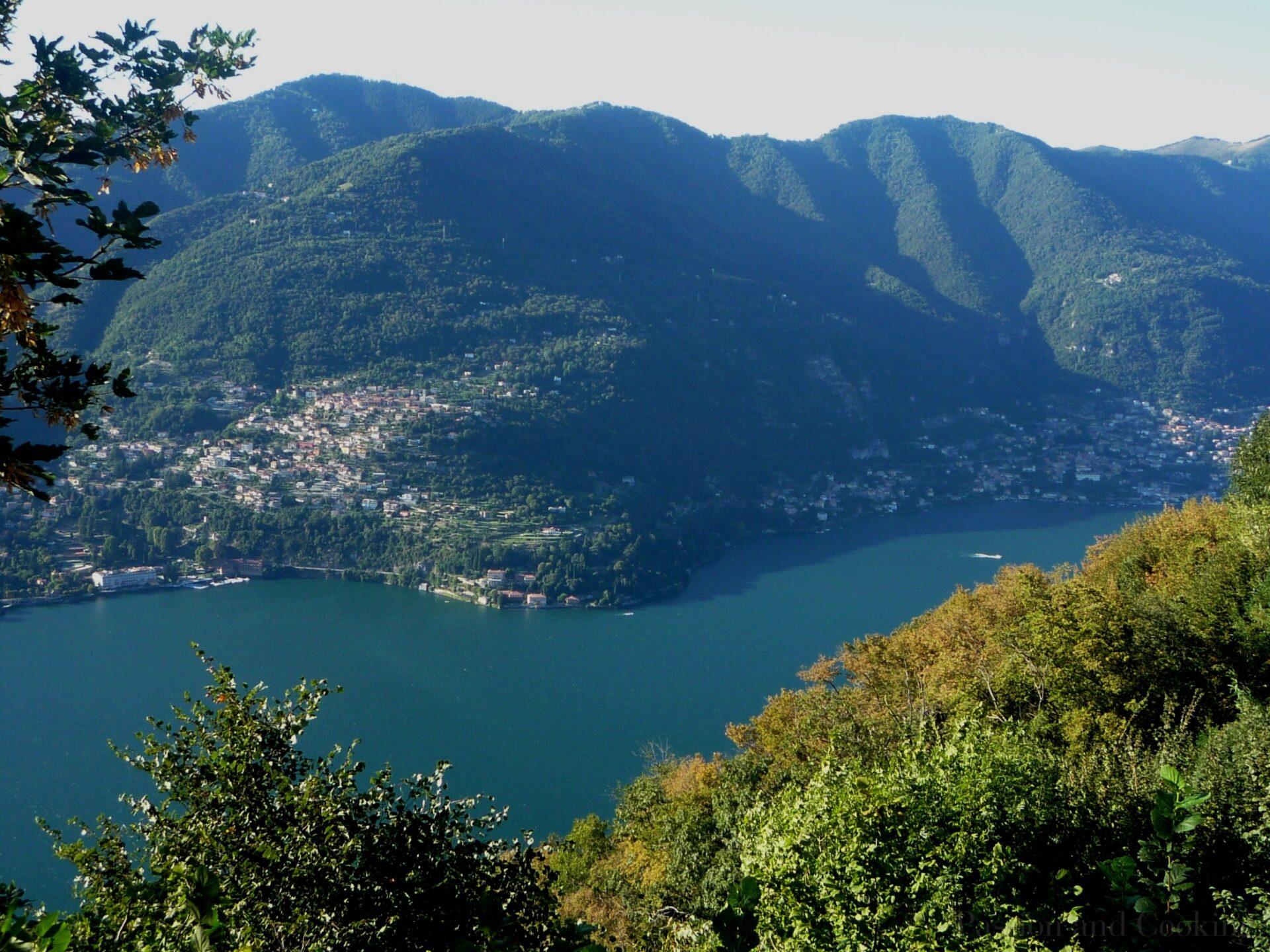 Lake Como from Brunate