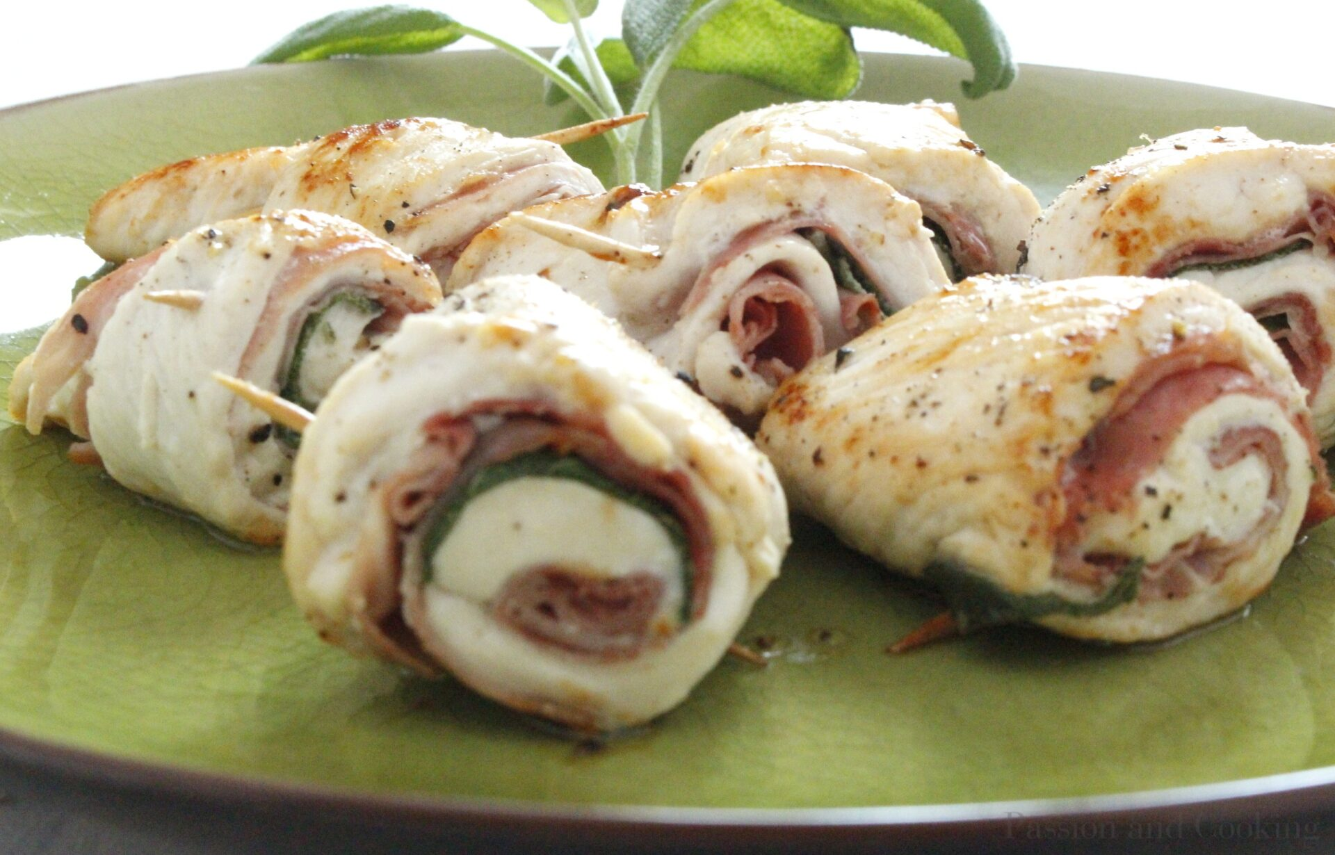 Involtini di pollo- Chicken breast rolls