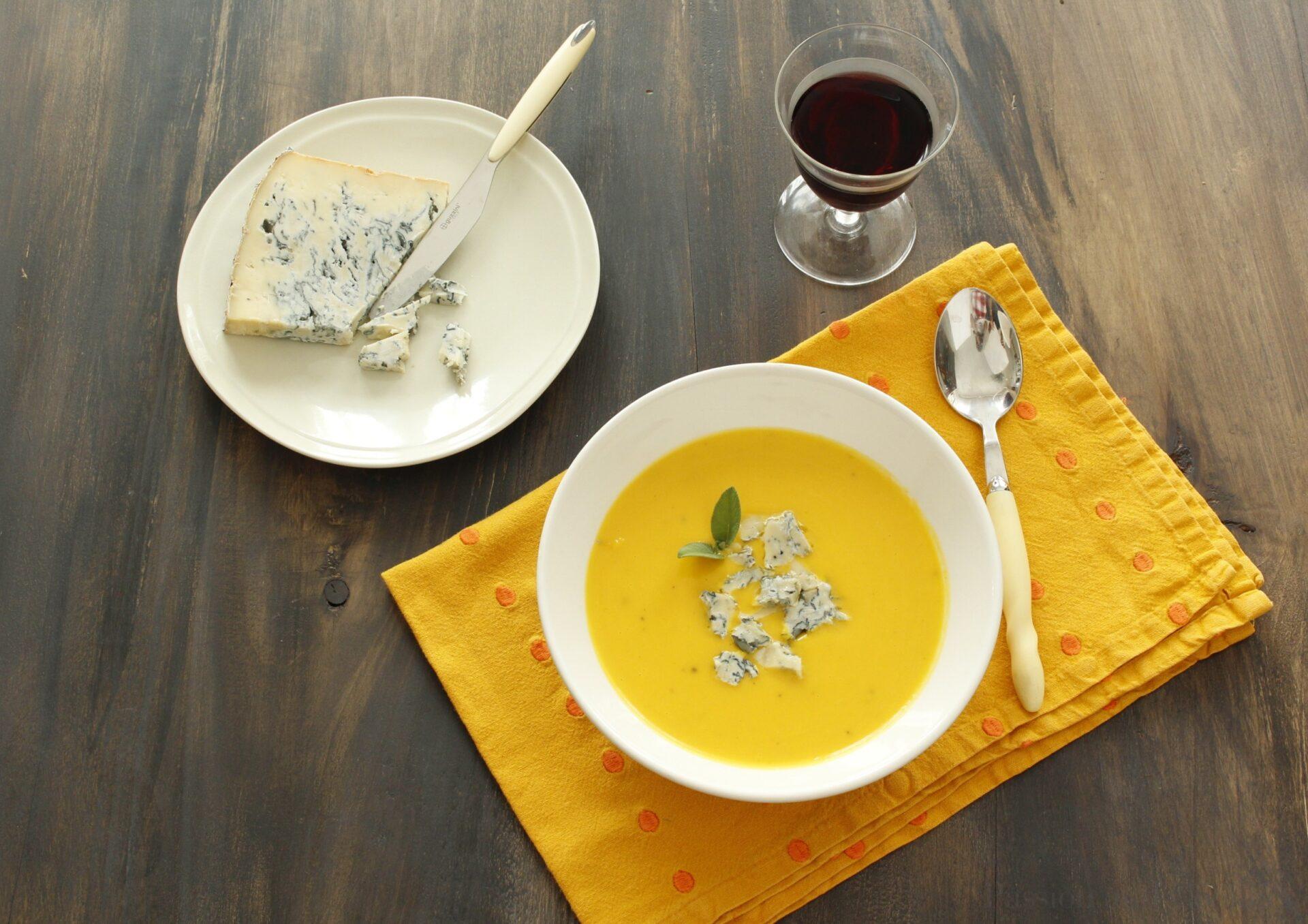 Vellutata di zucca con Gorgonzola TESS