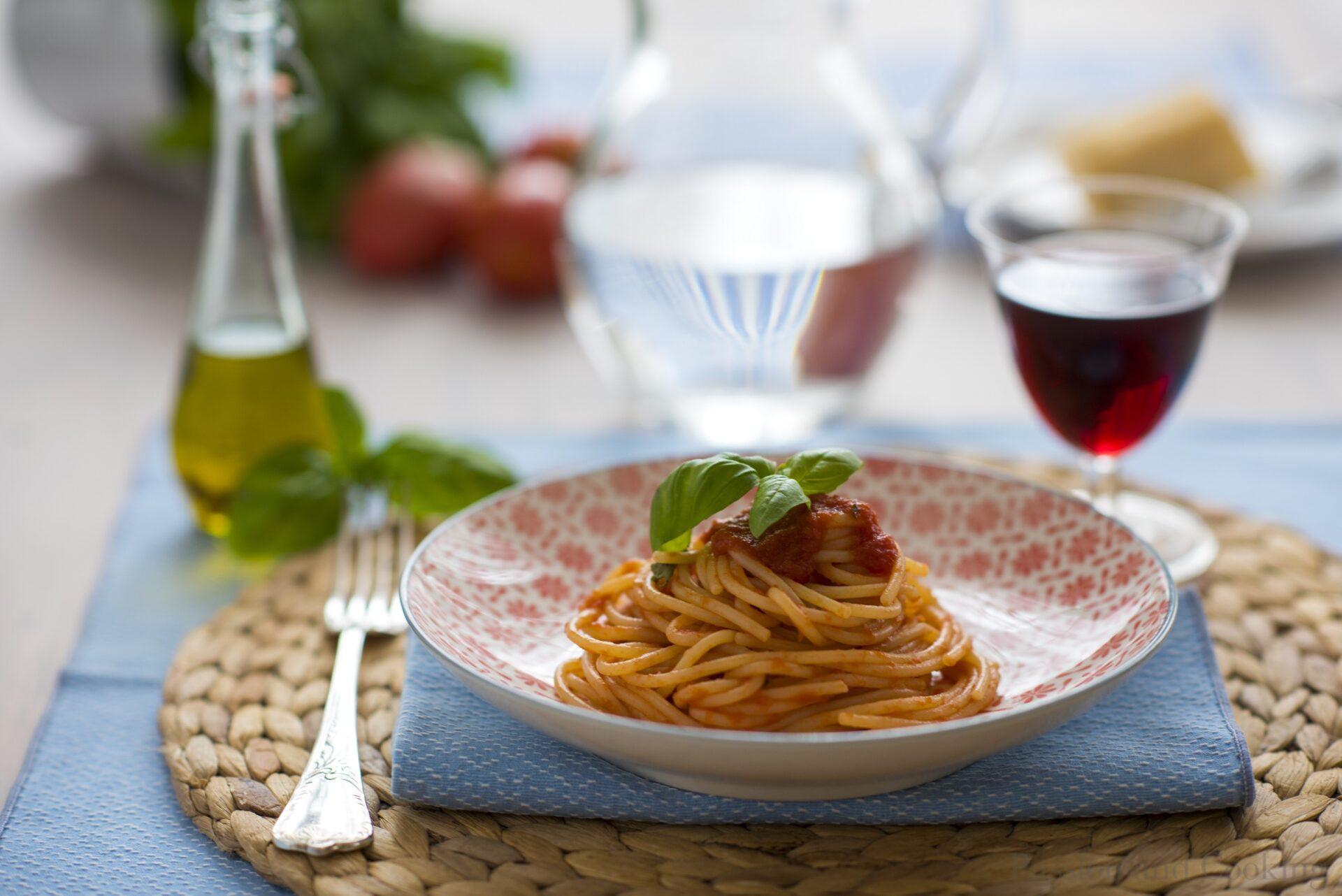 The Mamma Mia!Diet Spaghetti