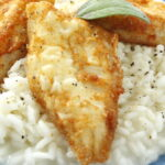 Risotto with Perch Fish