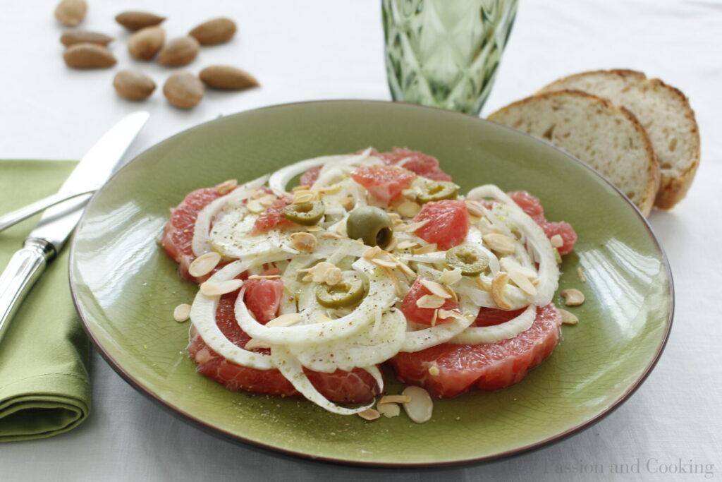 Fennel and grapefruit salad