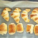 Croissant fatti in casa. Ricetta