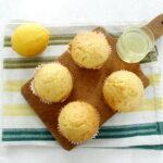 Limoncello Muffins, American recipe with Italian flavor