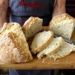 Soda bread with an Italian flavor