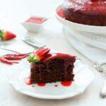 Chocolate and Hot chili pepper cake
