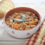Legumes and Farro soup
